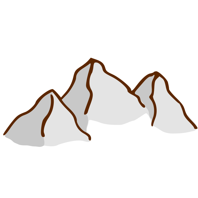 Clipart mountains desert. Free cartoon pictures of