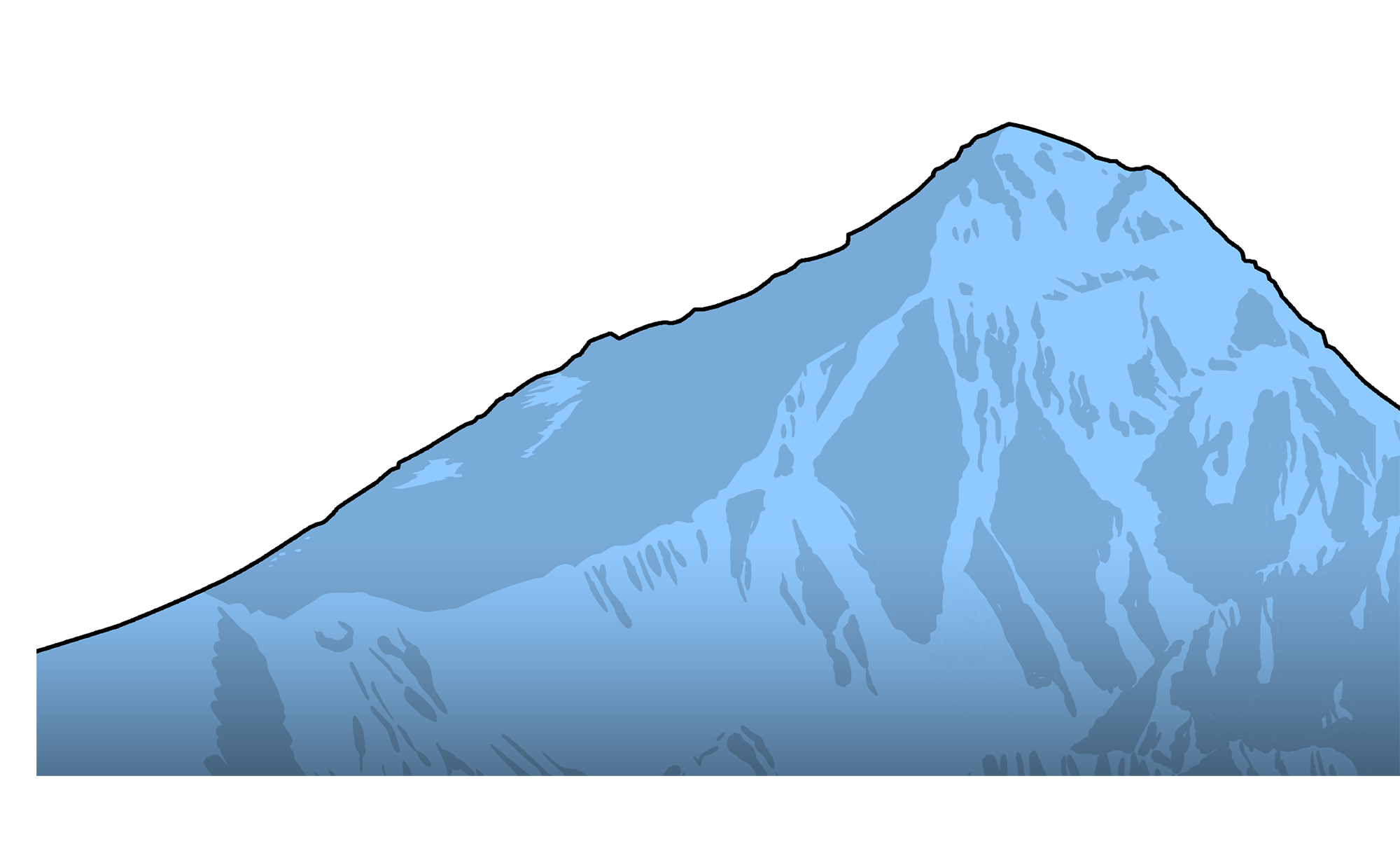 Mountain clipart mountain slope. Climbing fatalities copy