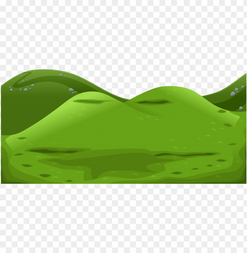 Reen png green . Clipart mountain ground