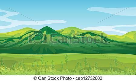 Clipart mountain high mountain. Vector mountains stock illustration