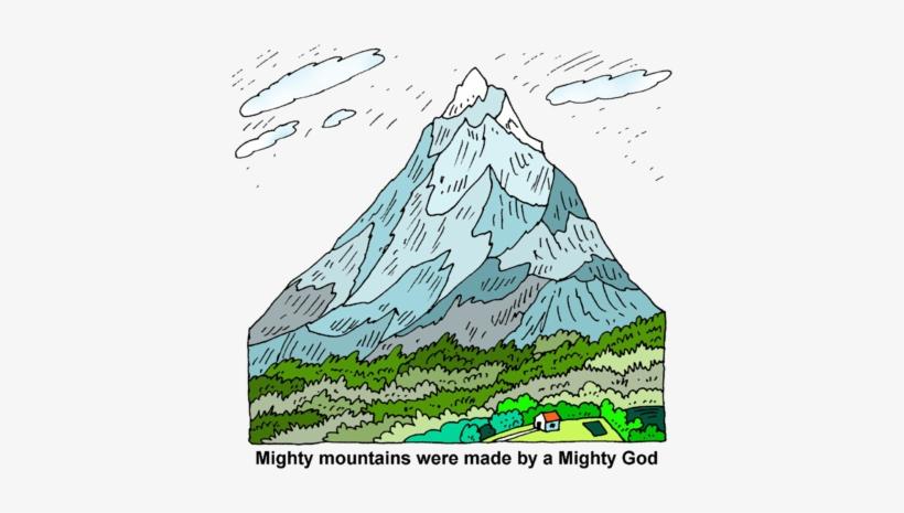Clipart mountains high mountain. Chain