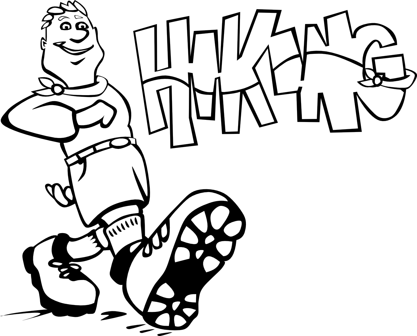 Mountain hiking clip art. Hike clipart hikinh