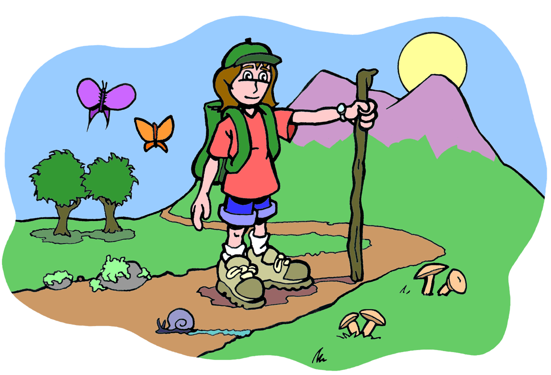 Bio benefits ology science. Hike clipart clip art