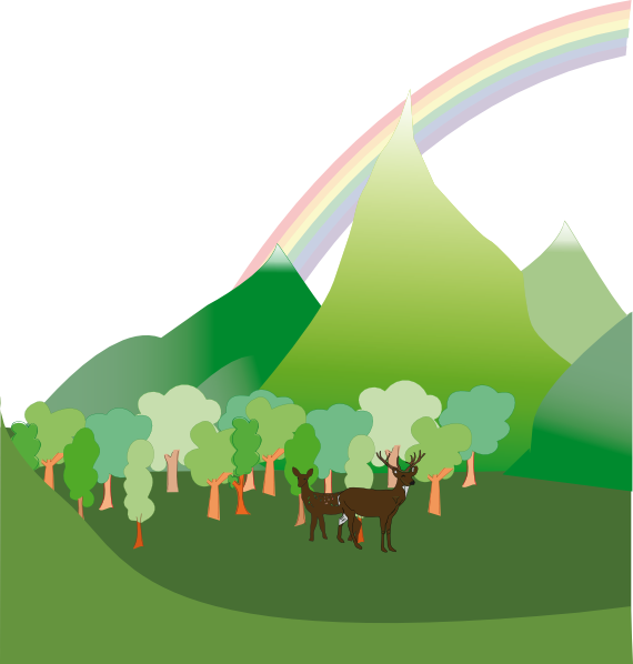 Clipart mountain hill. Scenery clip art at