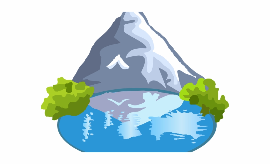 Mountain big data oil. Mountains clipart holiday