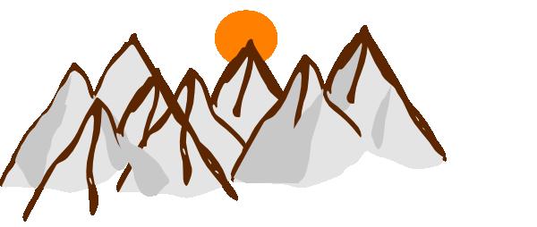 Mountains wikiclipart . Mountain clipart mountain range