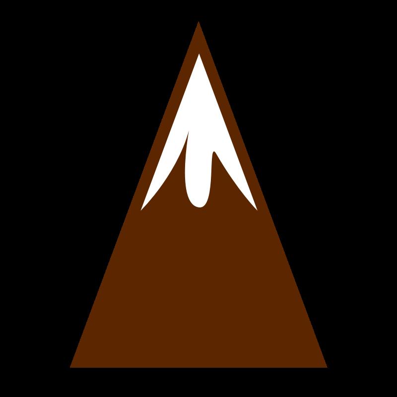 Clip art cliparts co. Mountain clipart mountain peak