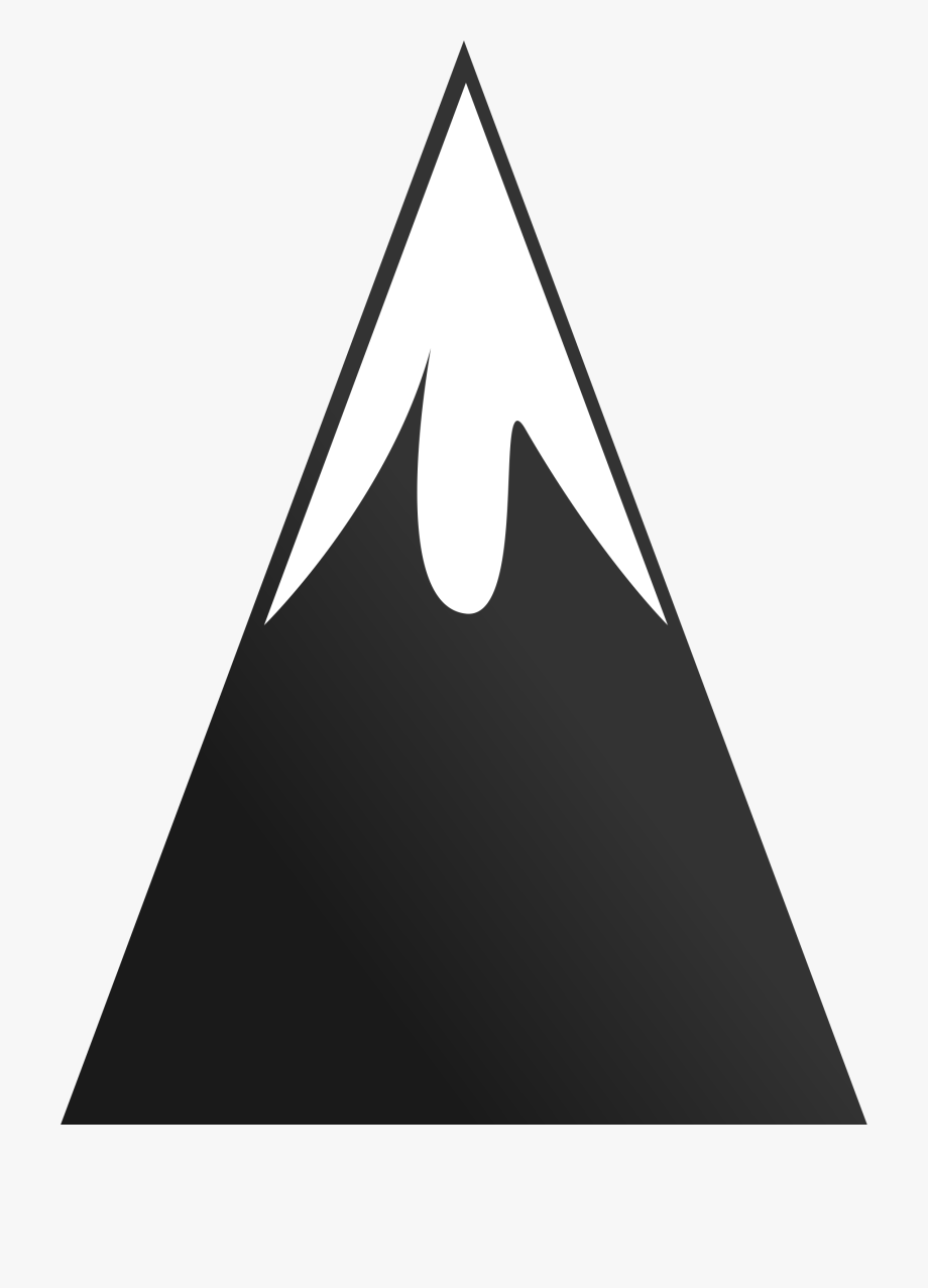 Clipart mountain mountain peak. Clip art