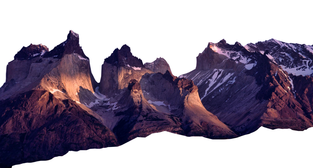 hills clipart purple mountain