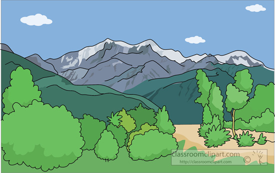 Mountains wikiclipart . Clipart mountain mountain range