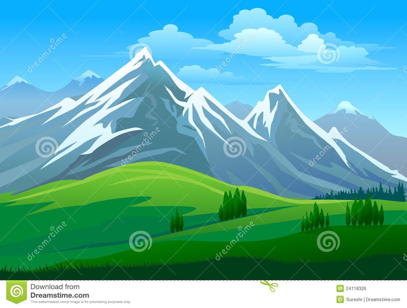 Portal . Clipart mountain mountain valley