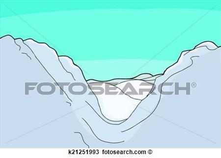 Mountain clipart mountain valley. Panda free images