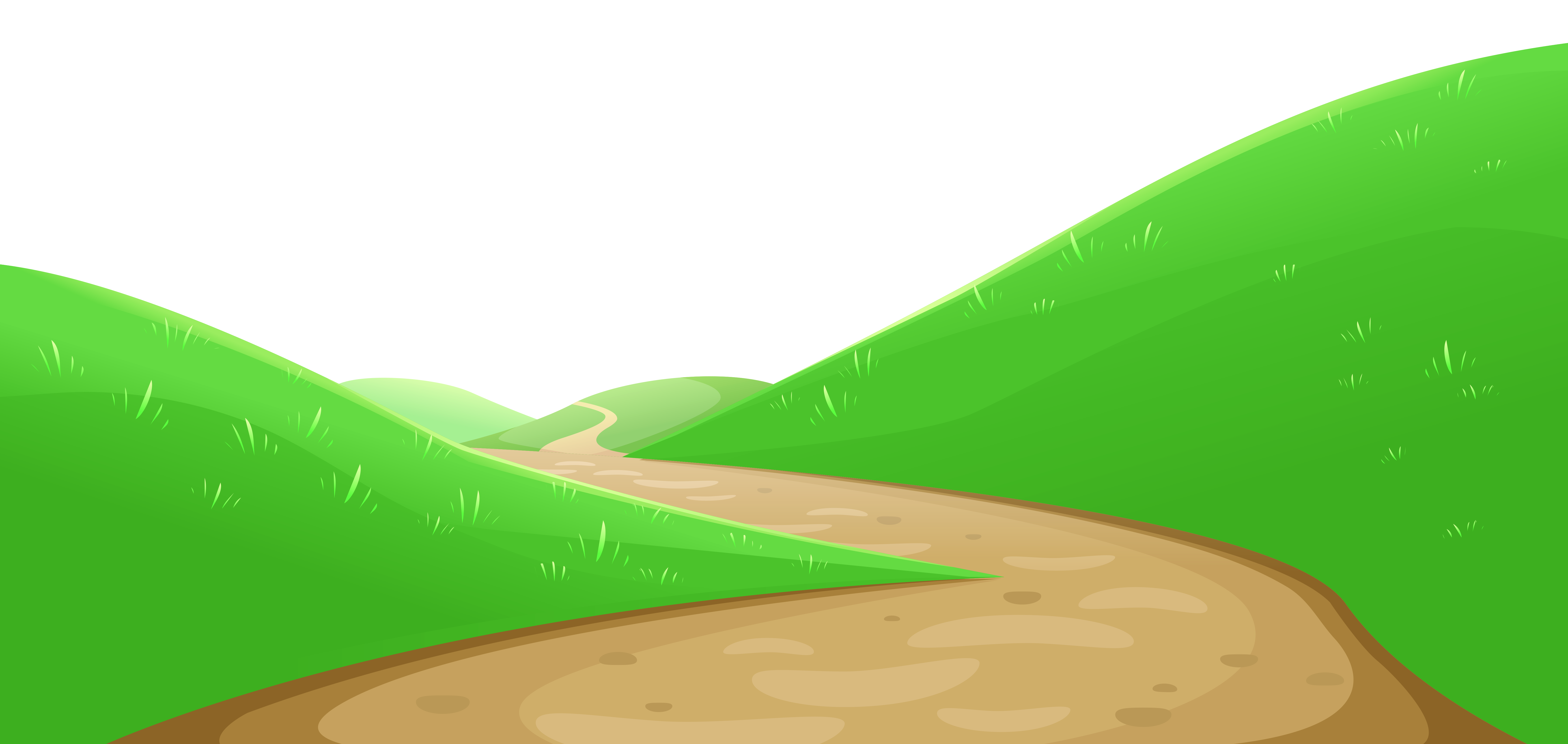 collection of valley. Pathway clipart mountain