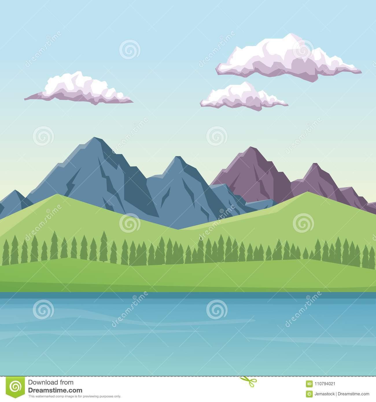 Portal . Mountain clipart mountain valley