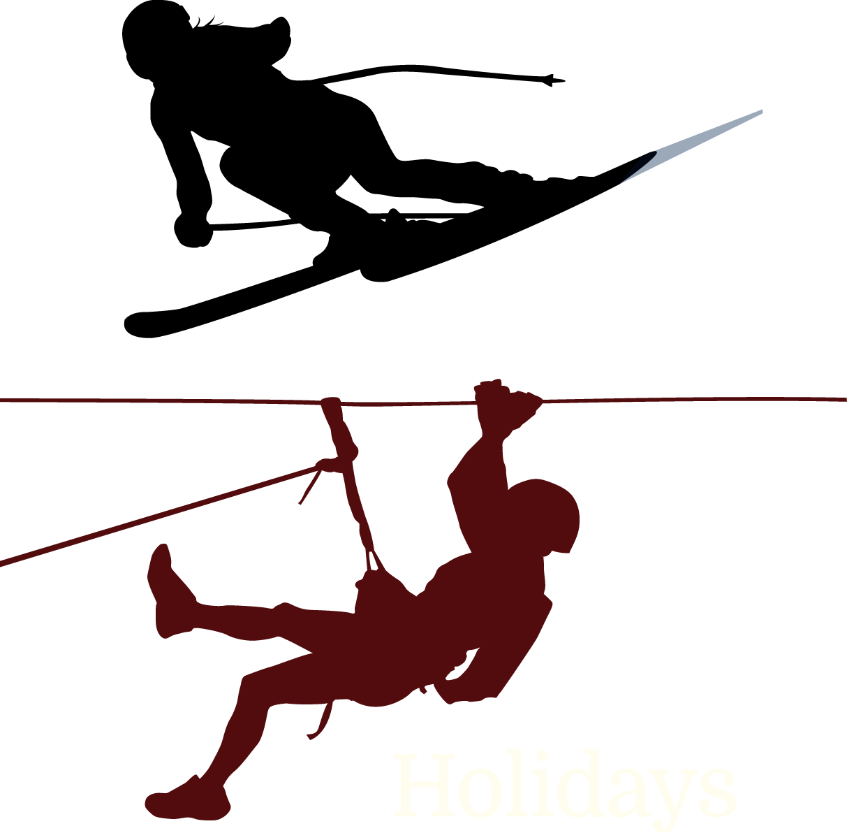 Climbing mountaineering clip art. Skis clipart ski jump