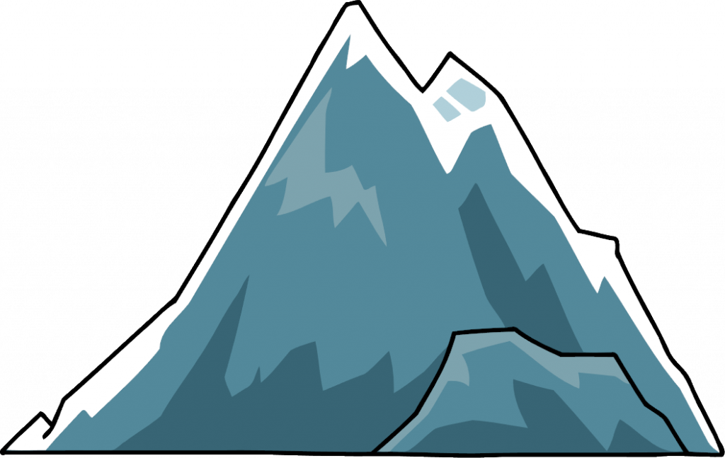 clipart mountain moutain