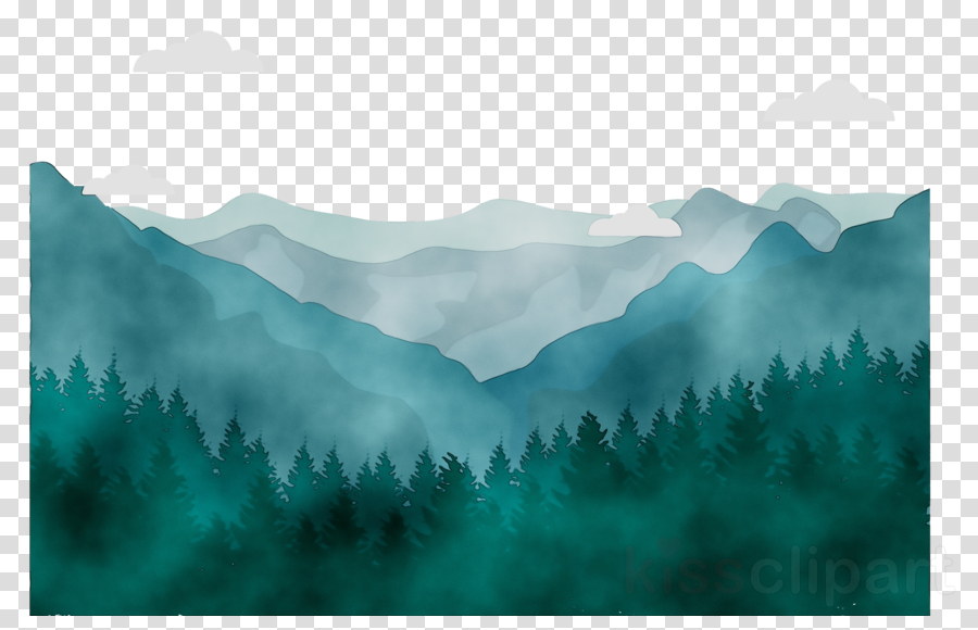 Family tree drawing sky. Mountain clipart nature