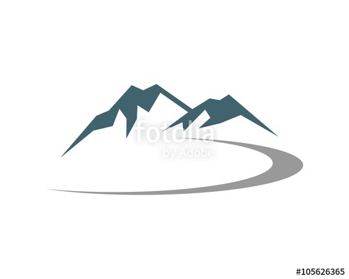 Collection of path free. Pathway clipart mountain