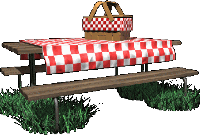 Picnic clipart mountain. Table with cloth png