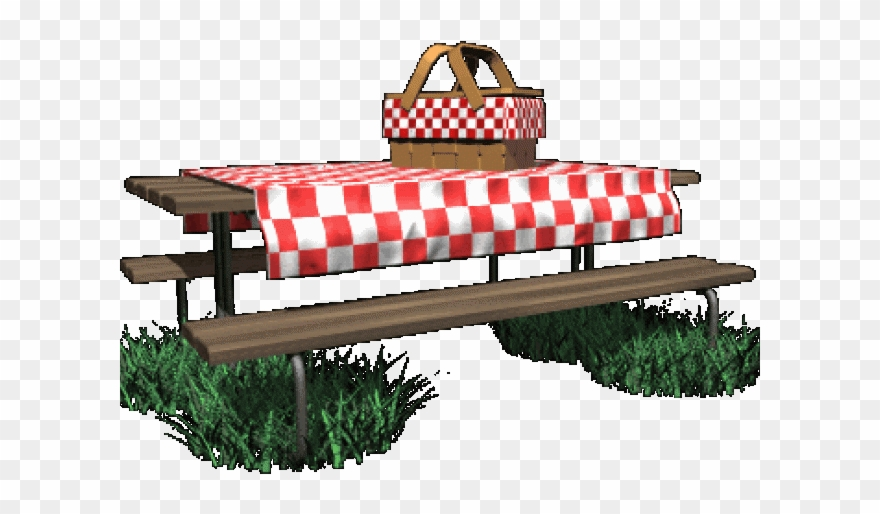 Table with cloth png. Mountain clipart picnic