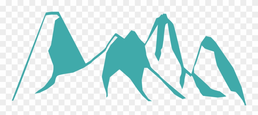 Clipart mountain rocky mountain national park. Beautiful drawing silhouette
