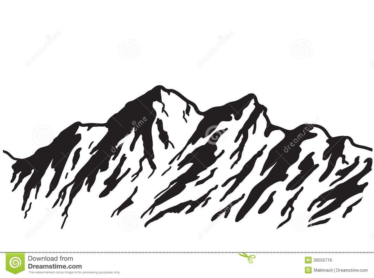 Outline drawings related keywords. Mountain clipart drawing