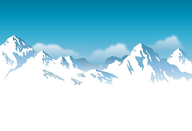Station . Clipart mountain snow mountain