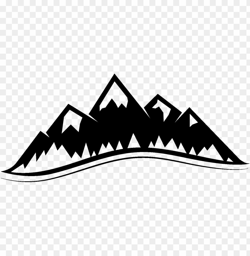 mountains clipart transparent background
