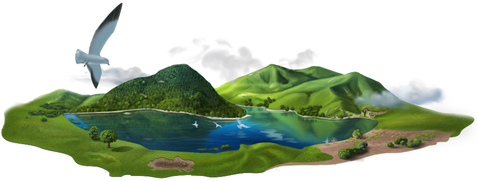 Island png transparent images. Clipart mountain underwater