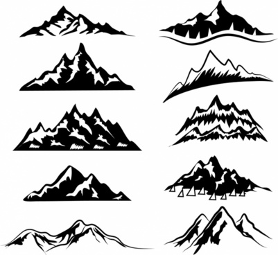 Mountain free download for. Clipart mountains vector