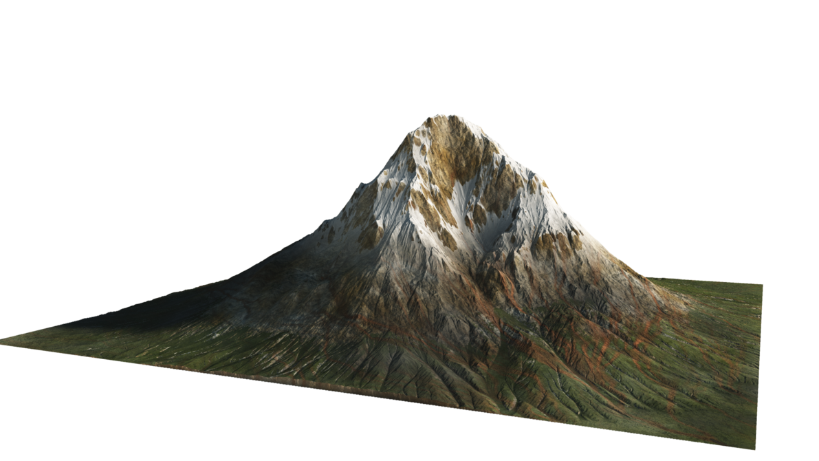 Clipart mountains volcanic mountain. Png images free download