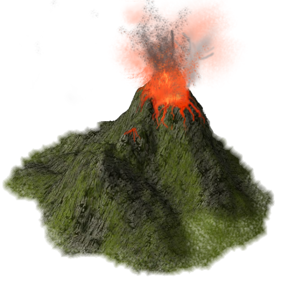 Png transparent images all. Earthquake clipart volcano