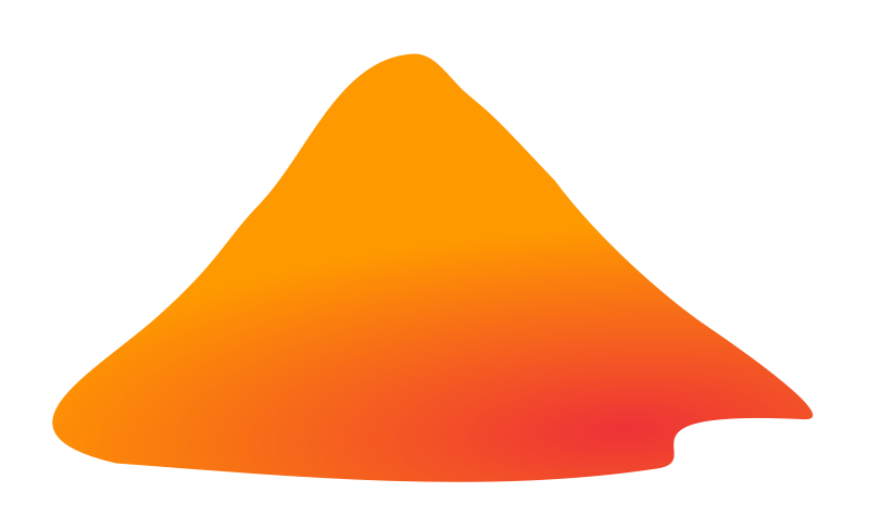 And mountains . Clipart mountain volcano