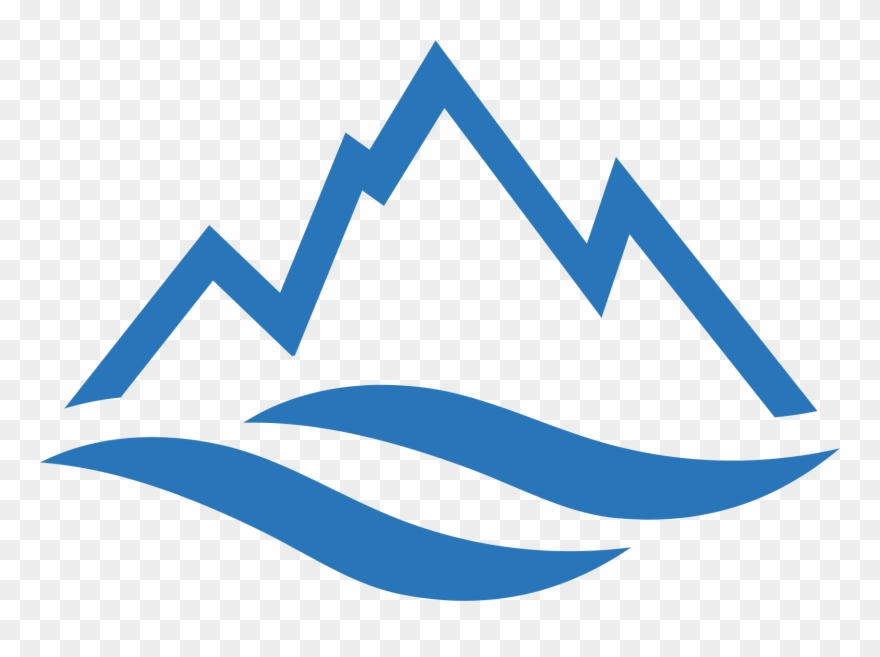 Icon pinclipart . Mountain clipart water