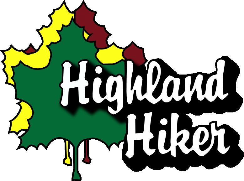 Waterfalls highland hiker . Mountains clipart waterfall