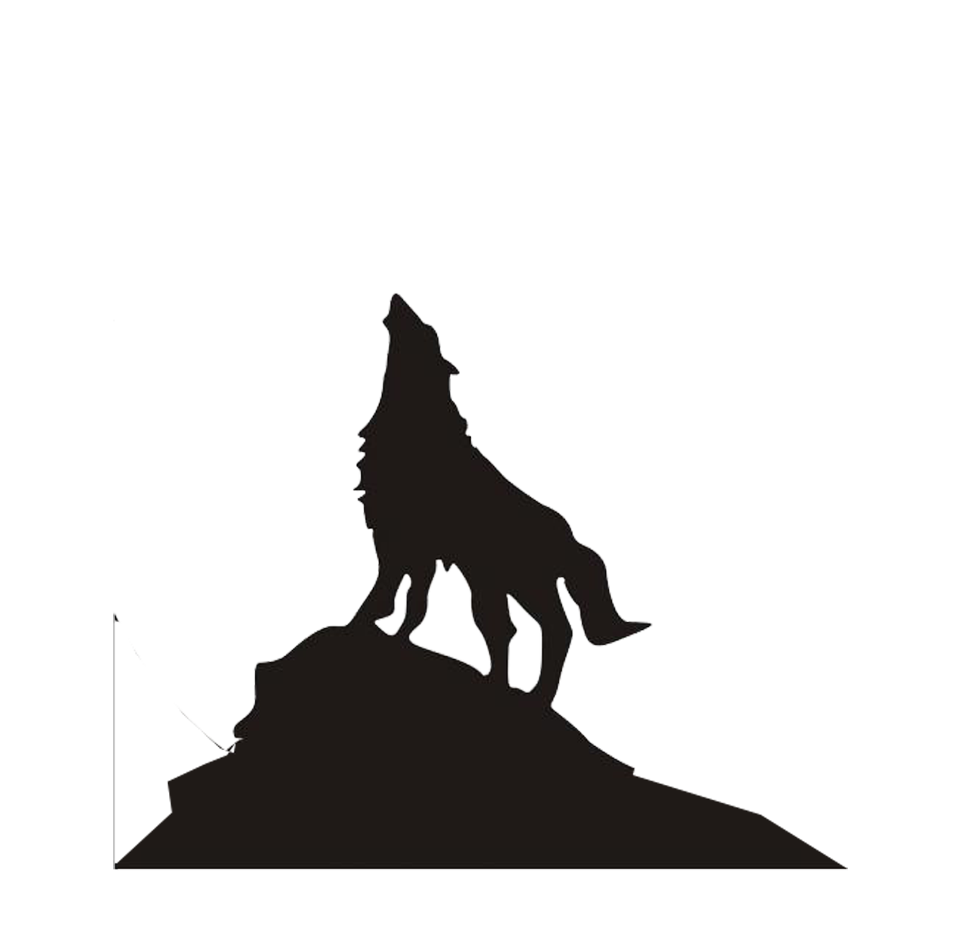 Wolf clipart mountain. Dog arctic dire eastern