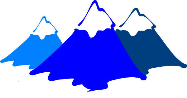 Clipart mountains. Mountain clip art free