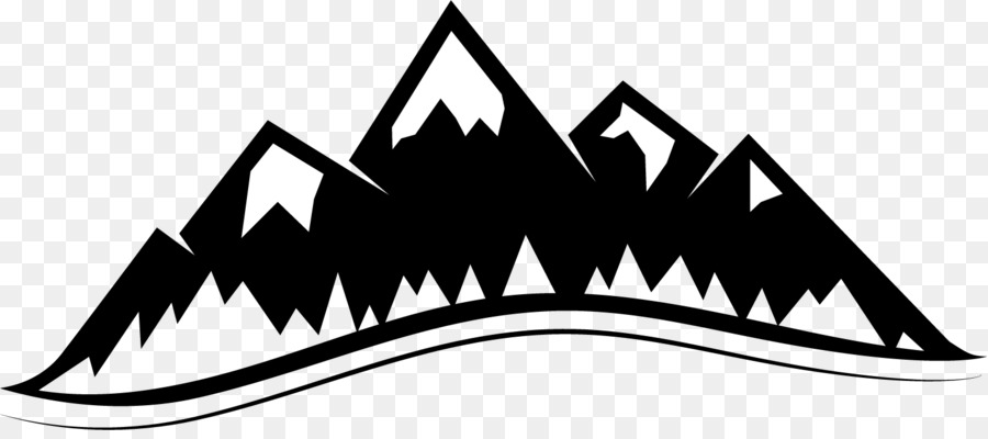Clipart mountains. Mountain clip art logo