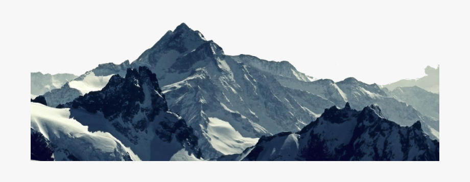Clipart mountains banner. Mountain range transparent