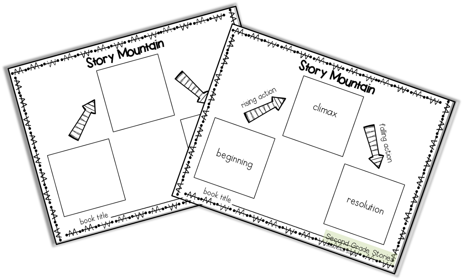 Clipart mountains book. Story second grade stories