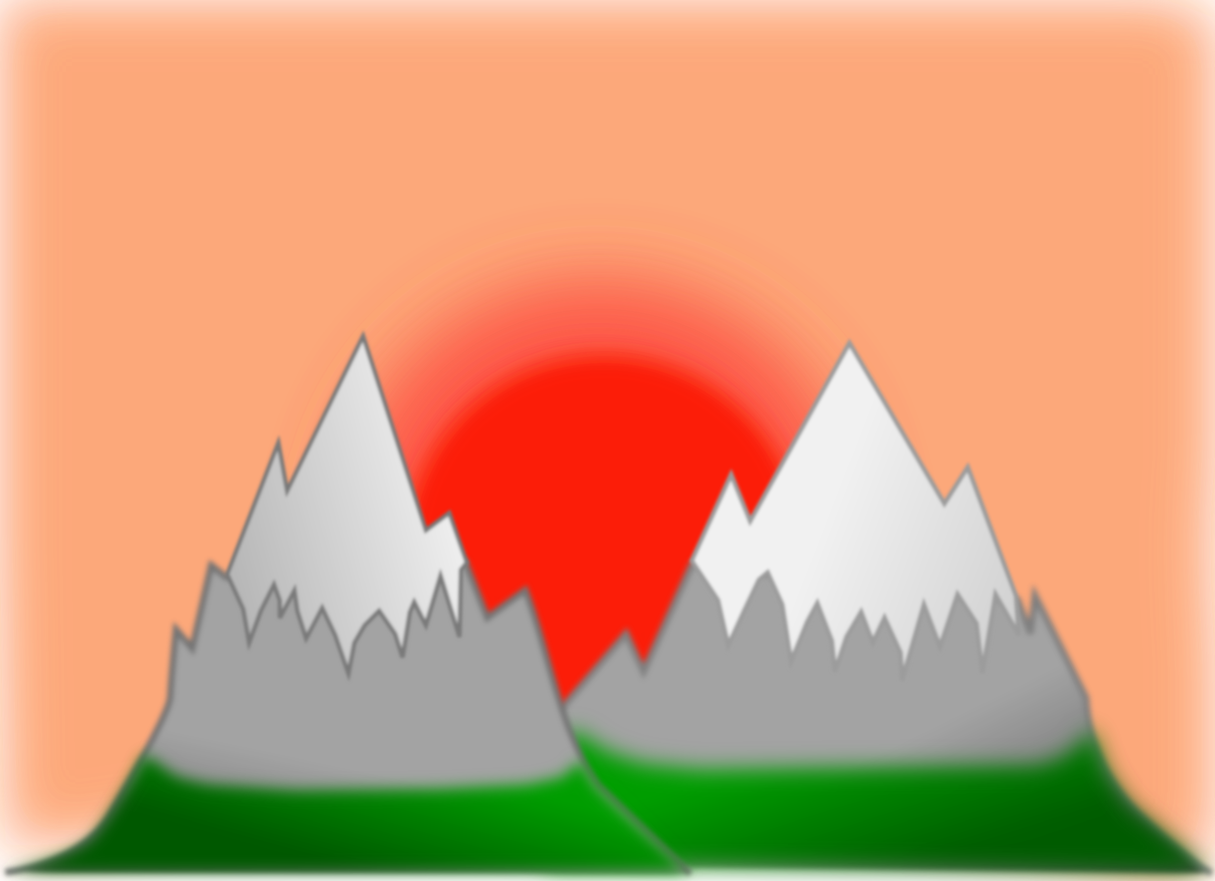 Sunset clipart mountains. Mountain simple big image