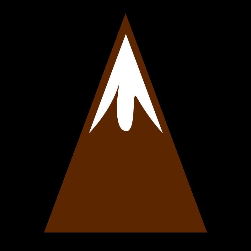 Clipart mountains clip art. Mountain medium image png