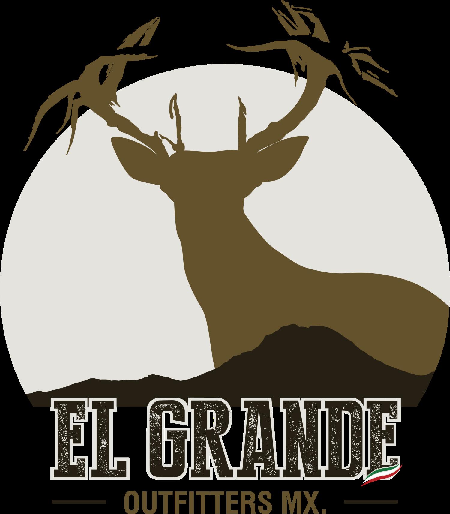 El grande outfitters . Deer clipart mule deer