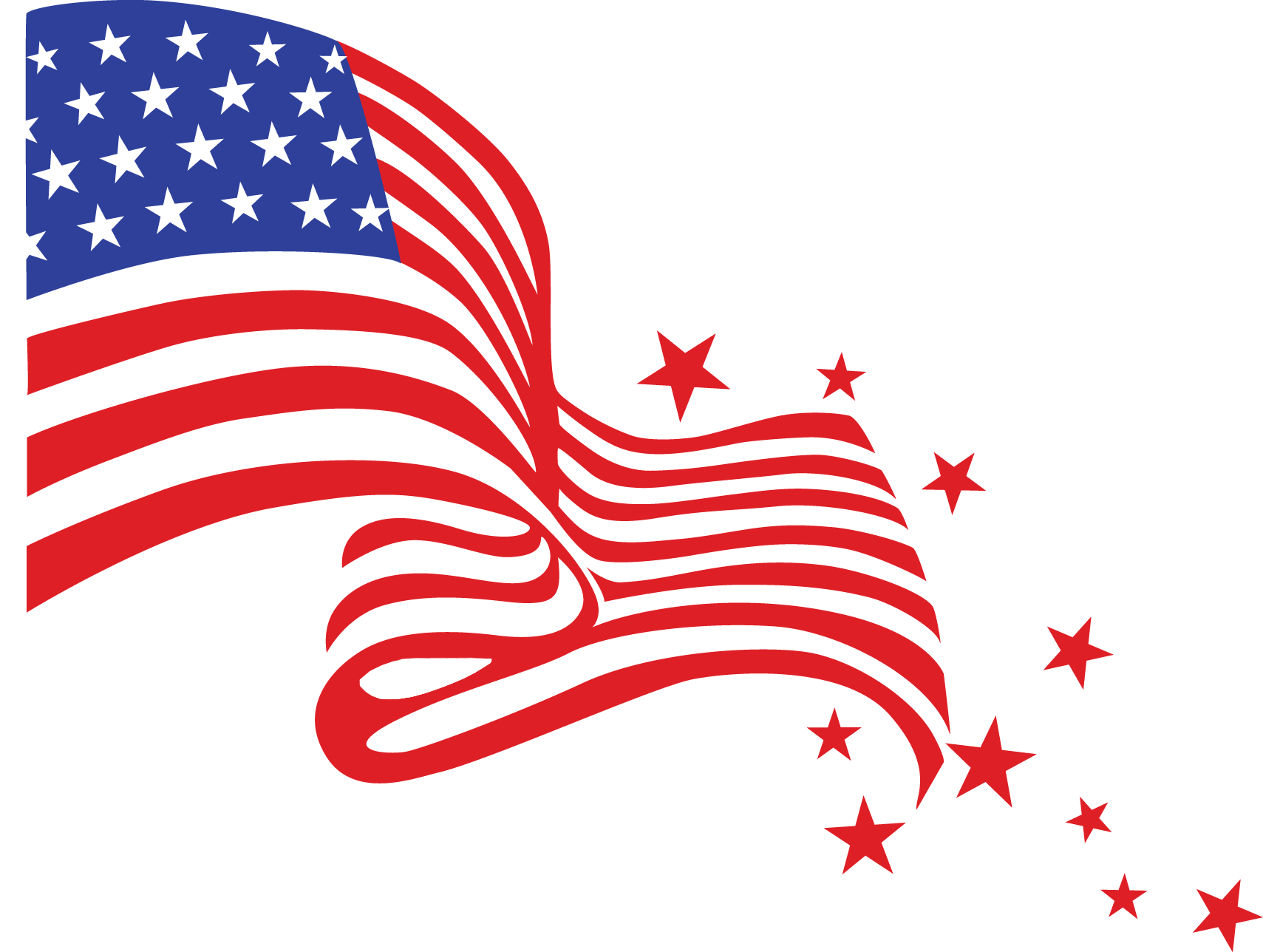 Ice clipart 4th july. American flag transparent google