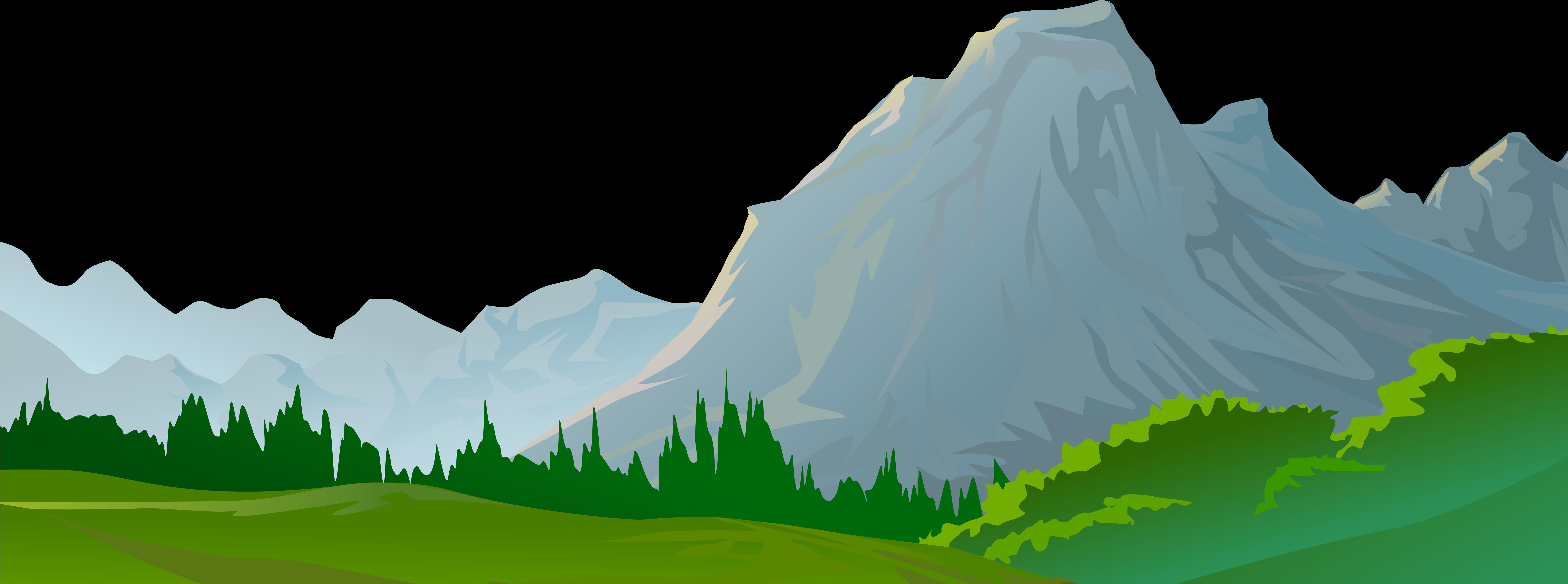 Mountain decorative transparent image. Clipart mountains ground
