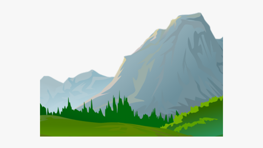 Mountain view cartoon transparent. Hills clipart ground