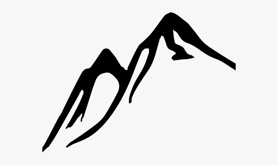 clipart mountains hill