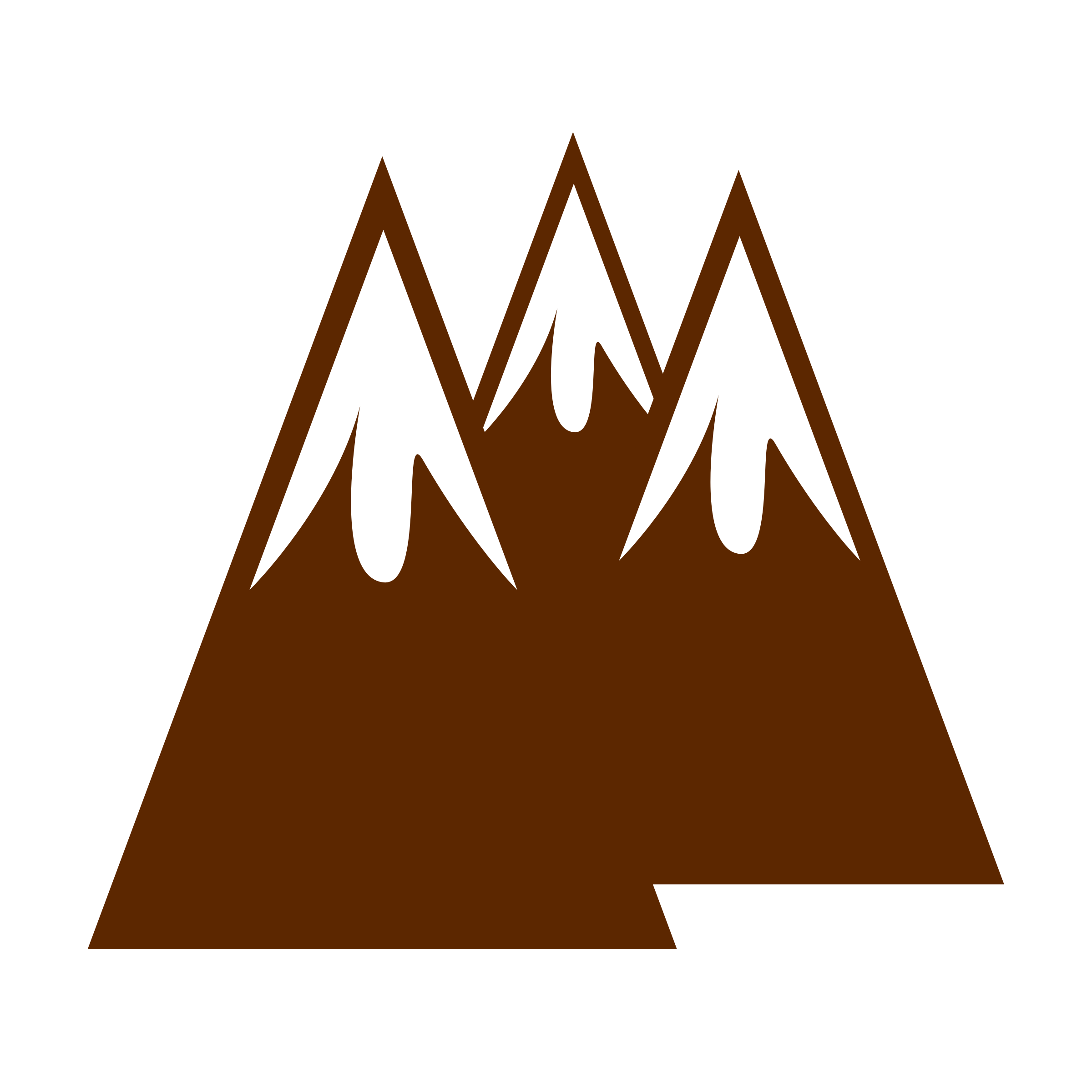 Mountains big image png. Logo clipart mountain
