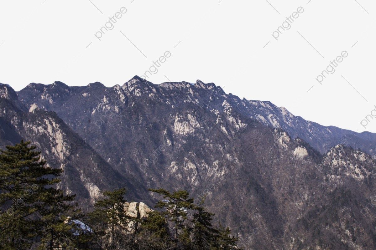 Charming tall peaks endless. Clipart mountains mountain scenery