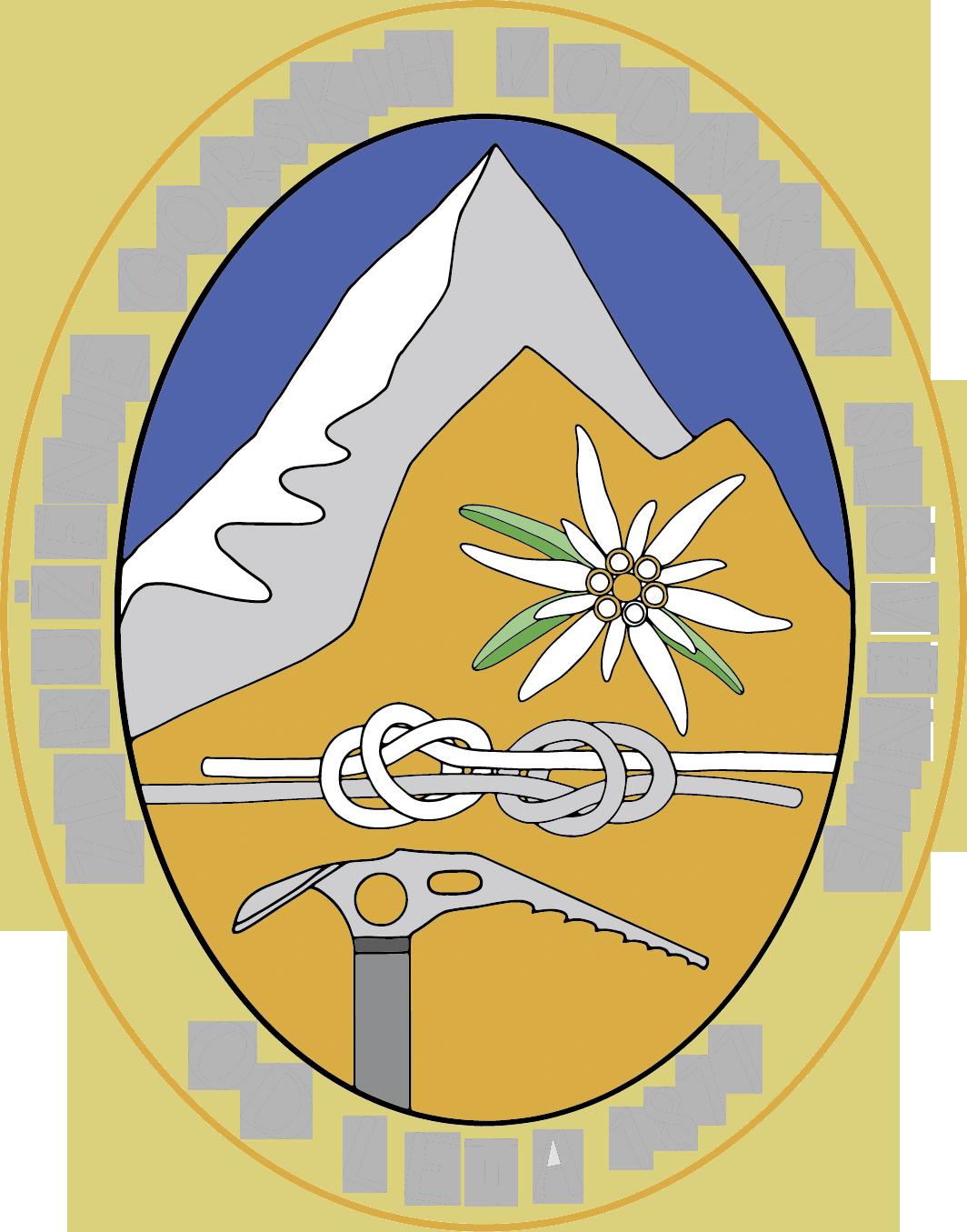 Zgvs slovenian mountain guides. Clipart mountains mountaineering